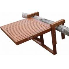 Balkonhängetisch  Balkonhängetisch 60x40cm klappbar, Eukalyptusholz, FSC®-z... https ...