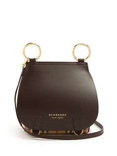 Burberry The Bridle leather cross-body bag