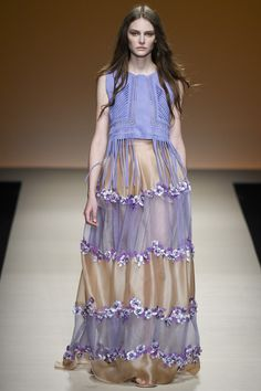 Alberta Ferretti womenswear, spring/summer 2015, Milan Fashion Week