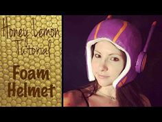 Honey Lemon Cosplay Tutorial - Foam Helmet - YouTube