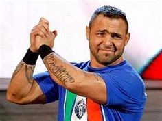 """""""All my friends – our parents came from different countries… All our parents butchered the language and they had funny expressions. So Santino is really a compilation of all my high school friends' parents, even my family."""" – Anthony Carelli on his WWE character, Santino Marella; The LAW (8/9/15)"""