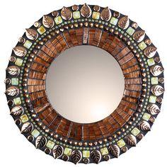 "Molten Bronze Mirror 7"", now featured on Fab."