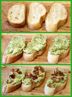 Avocado- Bacon Toasties