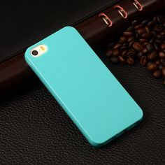 Lovely Candy Color Silicone TPU Gel Soft Case For Apple iPhone 5 5s / iPhone SE Rubber Soft Back Skin Shockproof Phone Cover