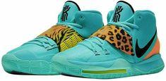 Nike Kyrie 6 Mens Basketball Shoes 7 Oracle Aqua Black BQ4630-300 #Nike