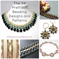 Beader's Digest: The 34 Prettiest Beading Designs and Patterns You've Ever Seen
