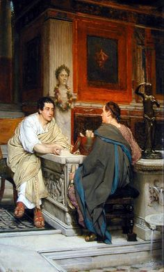 The discourse, sir Laurence Alma Tadema