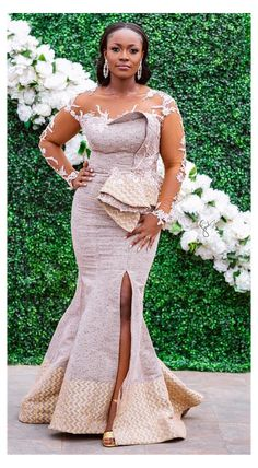 African Print Wedding Dress, African Party Dresses, African Lace Dresses, Latest African Fashion Dresses, Women's Fashion Dresses, Bride Reception Dresses, Classy Wedding Dress, Nigerian Wedding Dresses Traditional, Traditional Wedding