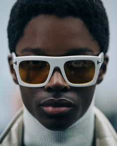 4686406648ce TOM FORD Eyewear at the Men s FW18 Show. Faux Fur Accessories
