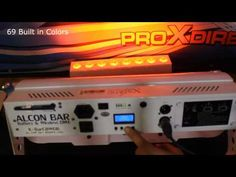 Alcon LED Bar Xstatic Pro Lighting Battery wireless DMX X-BARC8WDBX4 ProX Cases review