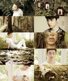 EXO as Demigods: D.O, Son of Artemis: Goddess of the Hunt and Wilderness. If she ever had children, that is. HAHA <3