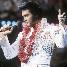 "Elvis Presley ""Aoha, From Hawaii"" satellite broadcast, January 1973"
