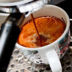 Making an Americano by CoffeeGeek