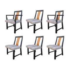 Set of Eight Chairs by Edward Wormley for Dunbar