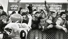 Dawg Pound: Cleveland Browns Stadium ...... with Webster Slaughter !!!