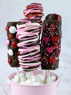Looking for a unique and delicious Valentines Day Treat for your family? How about Valentines Day Marshmallow Wands? So easy to make and you won't believe how yummy they are ... your loved ones will beg for more of this great Valentine's Day Dessert. Follow us for more fun Valentines Day Food ideas.
