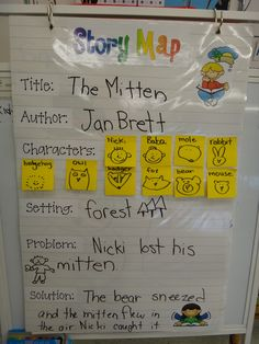 Love this story map... I think my special needs kiddos would love this!