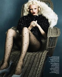 Daphne Groeneveld | Rafael Stahelin | Vogue Korea April 2012 | MysticBlue - 3 Sensual Fashion Editorials | Art Exhibits - Anne of Carversville Women's News
