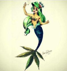 ariel the sea weed mermaid