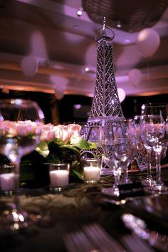 Paris theme centerpieces centerpieces pinterest paris theme parisian theme table setting junglespirit Choice Image