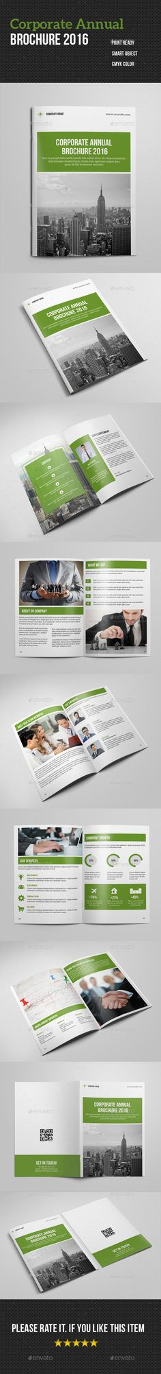 Annual Report Template InDesign INDD Download here http - annual report templates free download