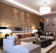 Ceiling design in living Room, shows more than enough about how to ...