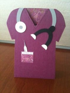Nurse/ Doctor | Nursing Graduation by idraglamom - Cards and Paper Crafts at Splitcoaststampers (could also be a nice thank you card for that special nurse from a hospital stay)