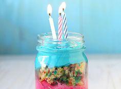 Mini Geburtstagskuchen *-* total niedlich & perfekt zum leichten Transportieren <3