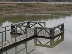 I would love a pond behind my house with a dock for fishing