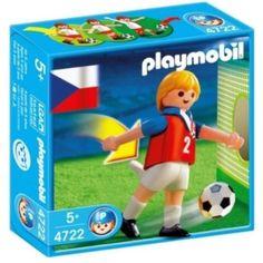Playmobil Voetbalspeler Tsjechië - 4722