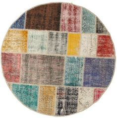 Patchwork carpet BHKD11 150x150 from Turkey - Buy your carpets at CarpetVista