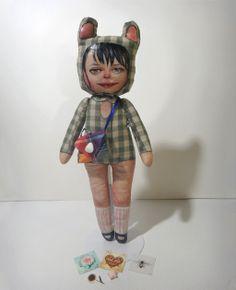 Commissioned Handmade Doll by brokeneyeball, via Flickr