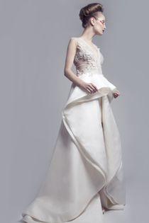 Robe de mariée Haute Couture - Robe: Ashi Studio Couture, été 2012 - La Fiancée du Panda blog Mariage et Lifestyle