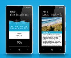 Tide app by Martin Spurway