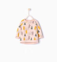 Imagem 1 de Sweatshirt estampado ursos da Zara