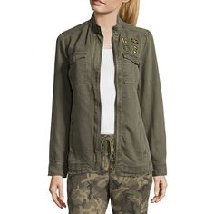 FREE SHIPPING AVAILABLE! Buy Libby Edelman Tencel Army Jacket at JCPenney.com today and enjoy great savings.