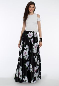 This dressy skirt is