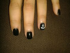 Nailart black & white