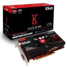 CLUB3D Radeon HD7850 2GB 135€