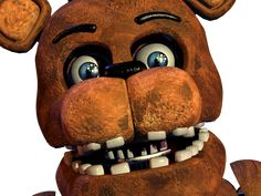 FNaF 2 Withered Freddy Jumpscare by crueldude100.deviantart.com on @DeviantArt