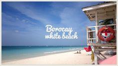 at the white beach