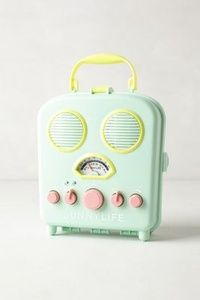 Sunny Life Beach Radio by Anthropologie.