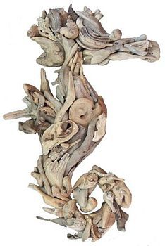 Driftwood Seahorse...looove!
