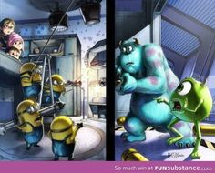 If Despicable Me and Monsters were one movie. 10/10 would watch