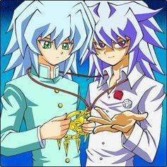 Ryou and Yami Bakura
