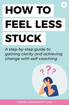 Feeling stuck, stressed or overwhelmed? Click to learn how self-coaching can help you make long-lasting positive changes today #personalgrowth #personaldevelopment Good Mental Health, Mental Health Quotes, Feeling Lost, Feeling Stuck, Development Quotes, Self Development, Coaching Questions, How Did It Go, Quarter Life Crisis