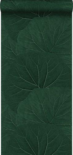 bol.com   ESTAhome behang grote bladeren emerald groen - 138997 Plant Leaves, Wallpaper, Tiny House, Master Bedroom, Master Suite, Tiny Houses, Wallpapers, Bedroom, Master Bedrooms