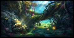Believe in Magic enchanted forest blog Fantasy art landscapes Fantasy forest Forest wallpaper