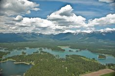 Echo Lake Montana  This is where I met my hubby:)