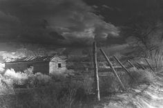 Mud House on the Walker River Paiute Indian Reservation - 1986; photographer: Elvin Willie